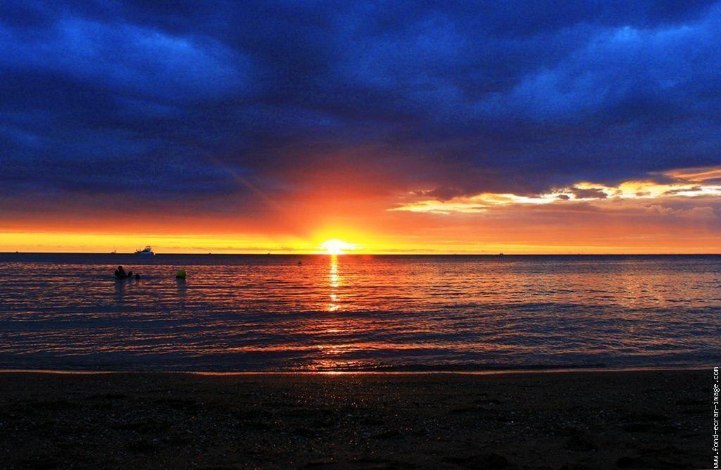 Bleu ocean - Photos coucher de soleil ...
